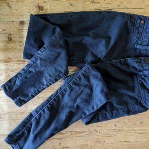 Hudson Nicole midrise super skinny jeans sz 26